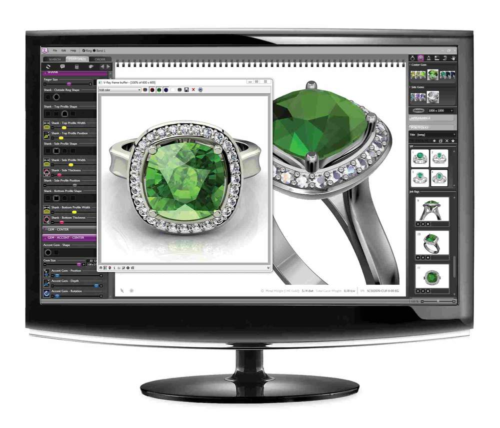 3d cad software jewellery sifalh 3d cad software